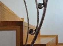 Detail schodiště Lelekovice